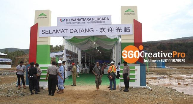 Event Organizer Ground Breaking di Maluku Utara